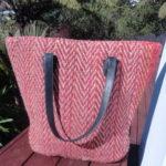 Jute Beach Bag - Bohemian