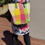 Jute Beach Bag - Colourful