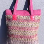 Jute Tote Bag - Red