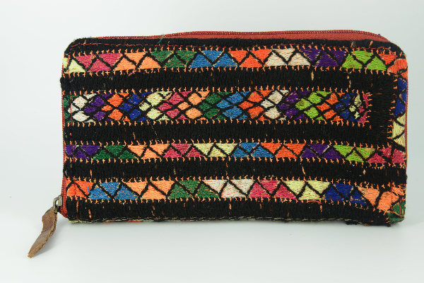 Rag Rug Wallet Multicoloured